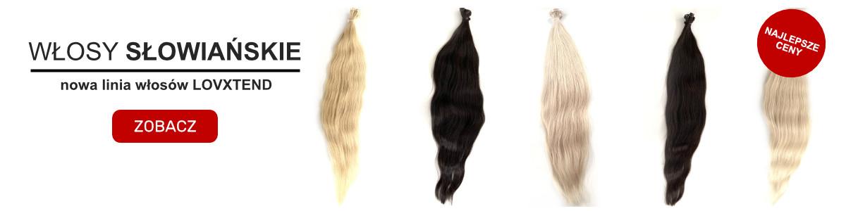włosy dziewicze - włosy słowiańskie polskie