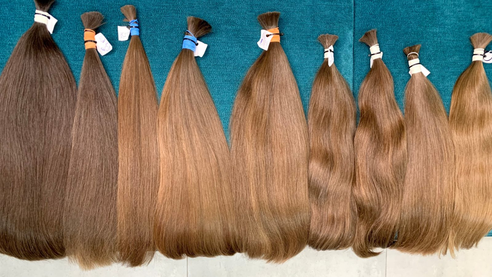 włosy dziewicze niefarbowane polskie